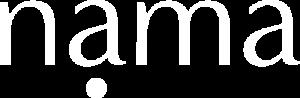 Nama White Logo